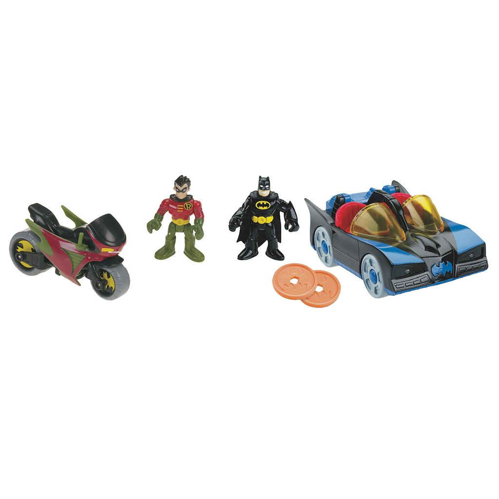 Imaginext DC Super Friends Batman & Robin Set by Fisher-Price