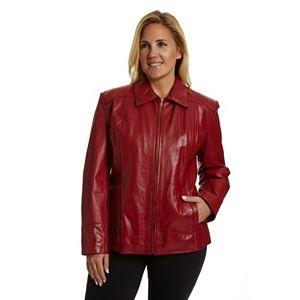 0204f1b43e6 Plus Size Levi s® Faux-Leather Moto Jacket. Sale