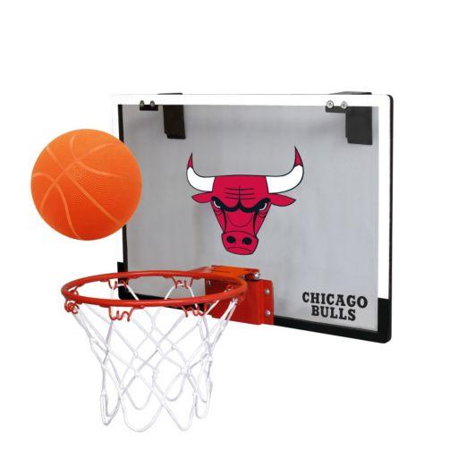 Chicago Bulls Game On Hoop Set