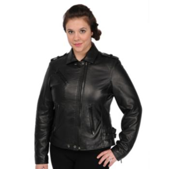 Women's Excelled Leather Motorcycle Jacket
