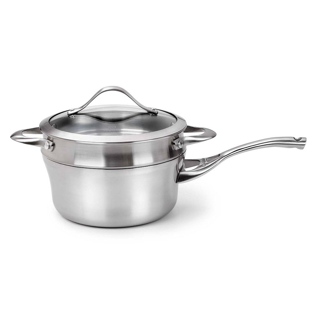 Calphalon Contemporary Stainless 1.5-qt. Covered Stainless Steel Saucepan