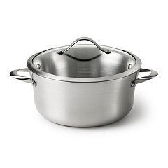 Calphalon Contemporary Stainless 6.5-qt. Covered Stainless Steel Stockpot