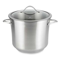 Calphalon Contemporary Stainless 12-qt. Covered Stainless Steel Stockpot