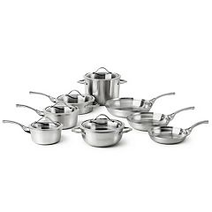 Calphalon Contemporary Stainless 13 pc Stainless Steel Cookware Set