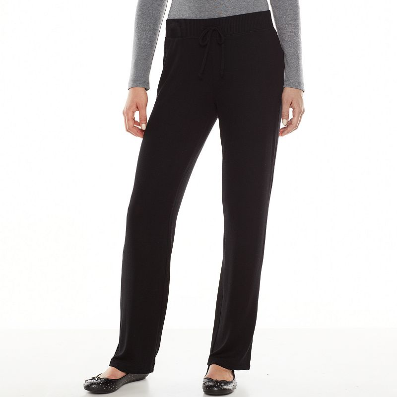Cool CottonPolyester PullOn Pants For Women 86582  Save 58