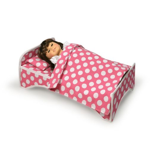 Badger Basket 2-in-1 Doll Travel Case and Bed