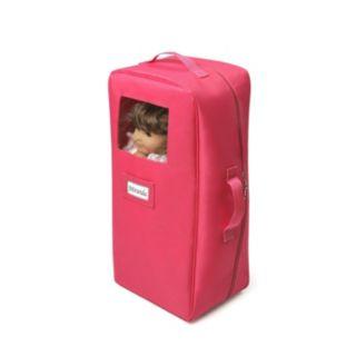 Badger Basket 2-in-1 Doll Travel Case and Bed