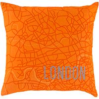 Decor 140 Cities Decorative Pillow - 18'' x 18''