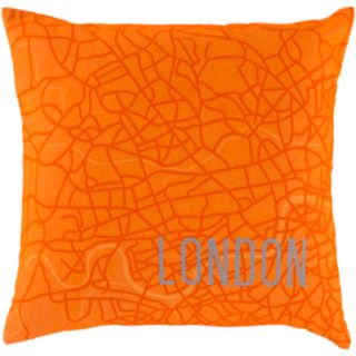 Decor 140 Cities Decorative Pillow - 18'' x 18''