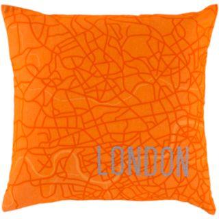 Decor 140 Cities Decorative Pillow - 22'' x 22''