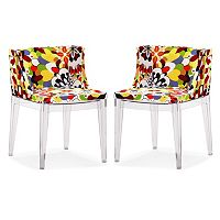 Zuo Modern 2 pc Pizzaro Dining Chair Set