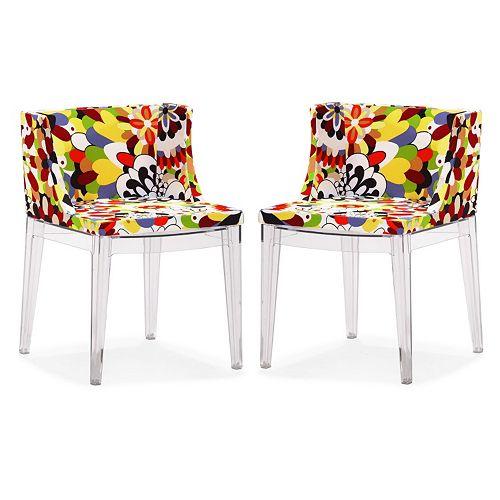 Zuo Modern 2-piece Pizzaro Dining Chair Set