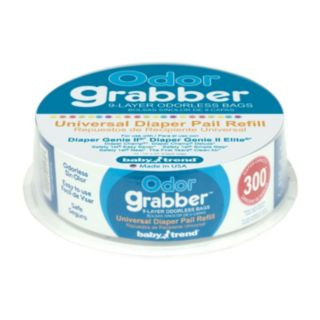Baby Trend Odor Grabber Universal Diaper Pail Refill Bags - 10 Bags