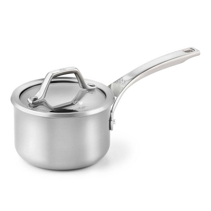 Calphalon AccuCore Stainless Steel 1-qt. Covered Saucepan