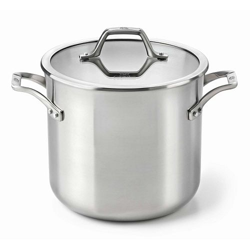 Calphalon AccuCore Stainless Steel 8-qt. Covered Stockpot