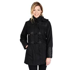 Womens Hooded Peacoat Coats & Jackets - Outerwear, Clothing | Kohl's