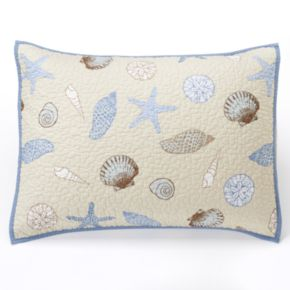 Home Classics® Sarah Seashells Sham - Standard