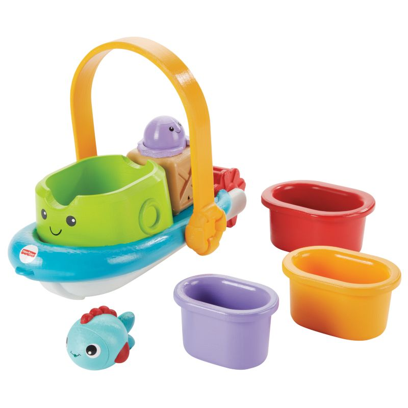 Fisher-Price Stackin' Tubtime Boat - 1 ct.