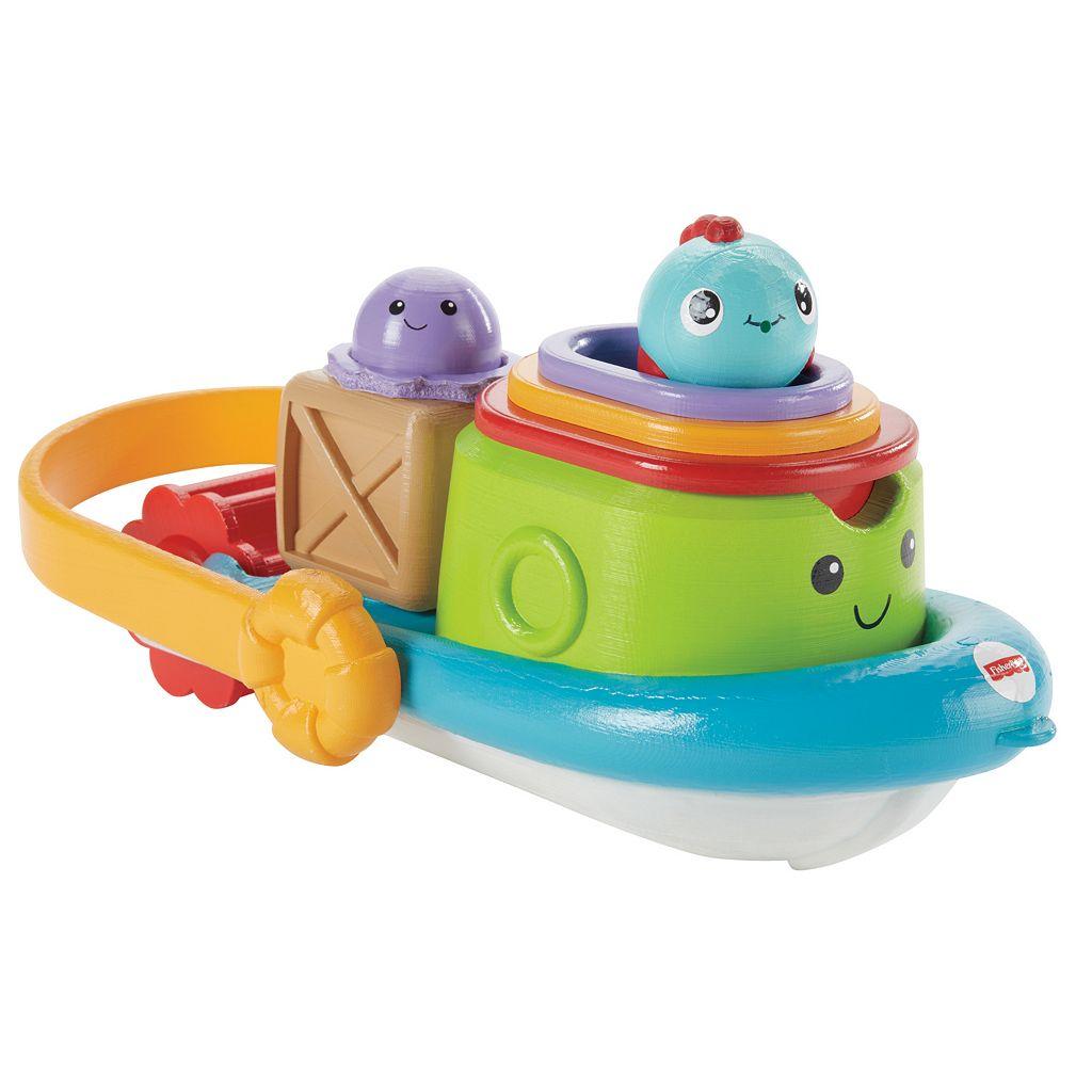 Fisher-Price Stackin' Tubtime Boat