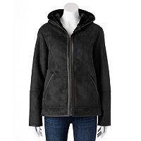 Women's Excelled Faux-Shearling Hooded Jacket