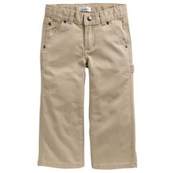 Toddler Jumping Beans® Twill Carpenter Straight-Leg Pants