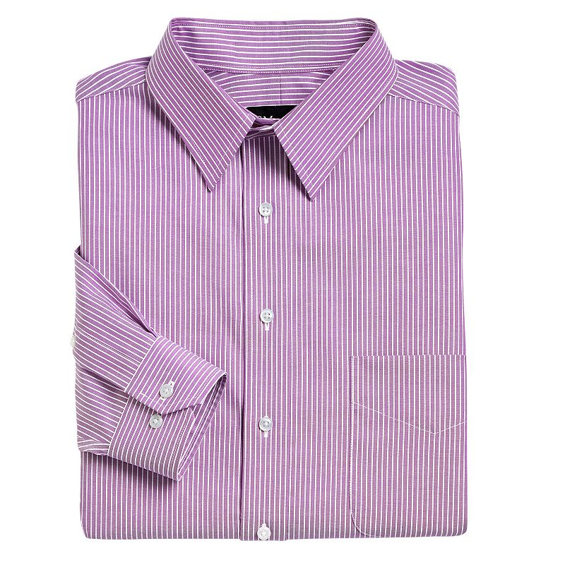 Cotton Striped Dress Shirt Kohl 39 S