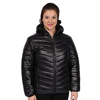 Women's Excelled Hooded Puffer Packable Jacket