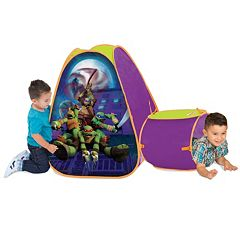Teenage Mutant Ninja Turtles Tent & Tunnel Hide About by Playhut