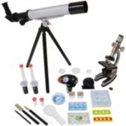 Microscope & Telescope Set with Survival Kit