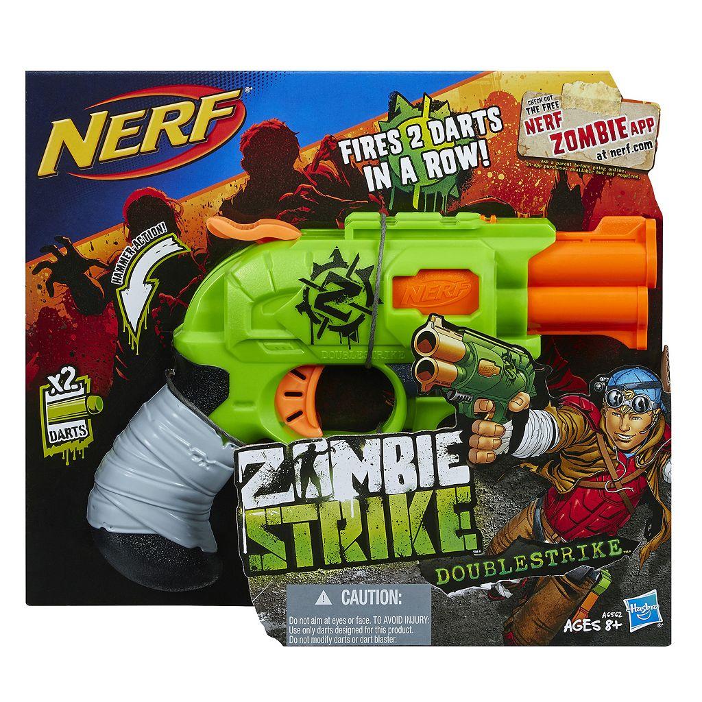 Nerf Zombie Strike Doublestrike Blaster by Hasbro