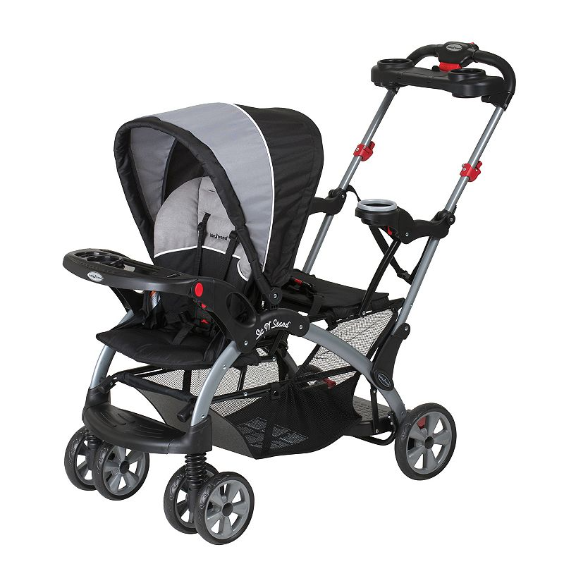 Baby Trend Sit 'N Stand Ultra Stroller, Grey