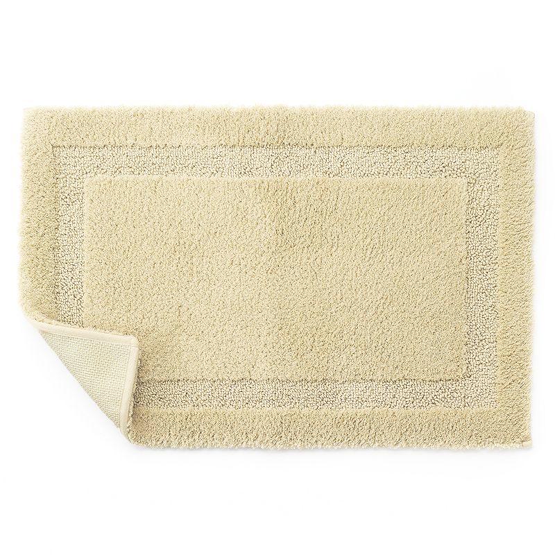 Chaps Home Lawton Microfiber Solid Bath Rug - 17'' x 25 1/2''