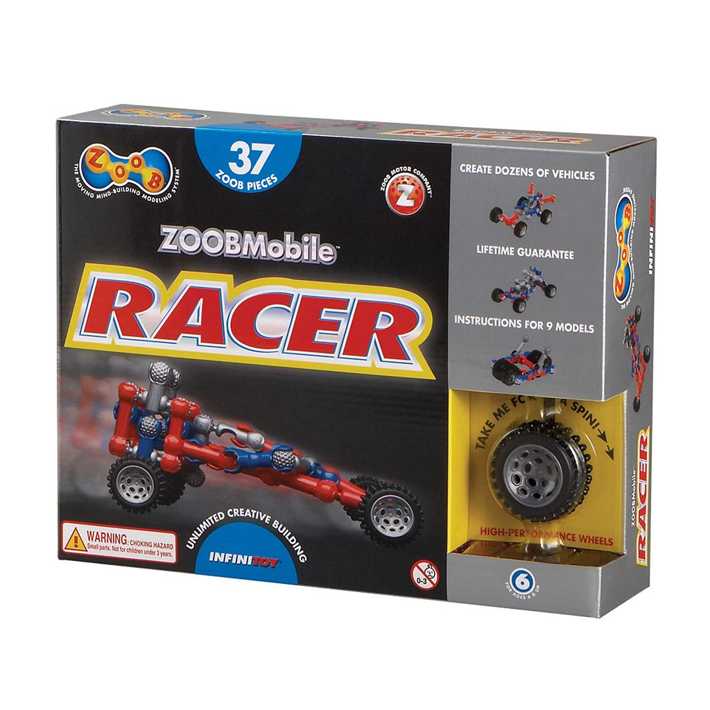 ZOOBMobile Racer 37-pc. Modeling Set