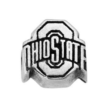 Dayna U Sterling Silver Ohio State Buckeyes Spartans Bead
