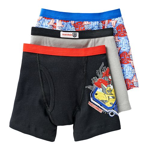 Transformers Boys Briefs Pack of 5
