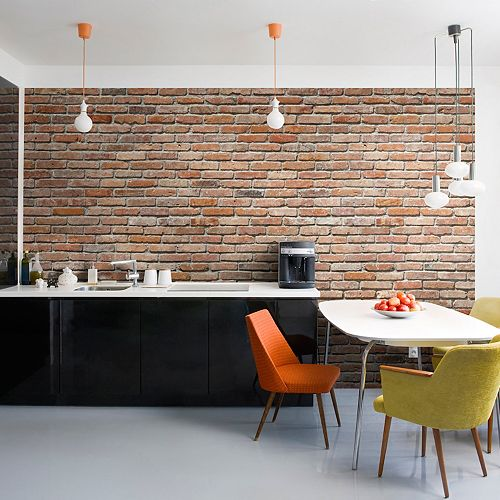 Komar Brick Mural Wall Decal