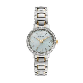Citizen Women's Two Tone Stainless Steel Watch - EL3044-54D