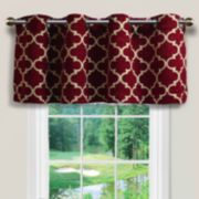 Spencer Club Lattice Window Valance - 54'' x 16''