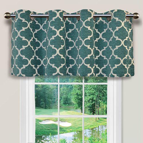 Spencer Club Lattice Window Valance 54 x 16