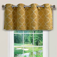 Spencer Home Decor Club Lattice Window Valance - 54
