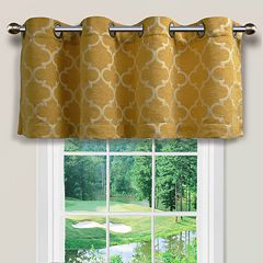 Spencer Home Decor Club Lattice Window Valance - 54' x 16'