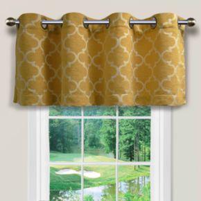 "Spencer Home Decor Club Lattice Window Valance - 54"" x 16"""