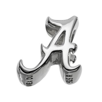 Dayna U Alabama Crimson Tide Sterling Silver Logo Bead
