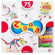 ZOOB 75 pc Moving Mind-Building Modeling System