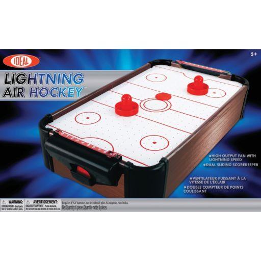 Ideal Lightning Portable Air Hockey Game