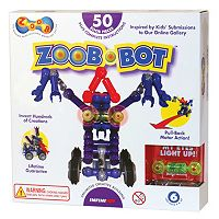 ZOOB 50 pc Bot Modeling Set