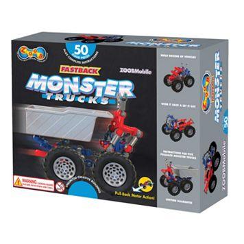 ZOOBMobile 50-pc. Fastback Monster Trucks