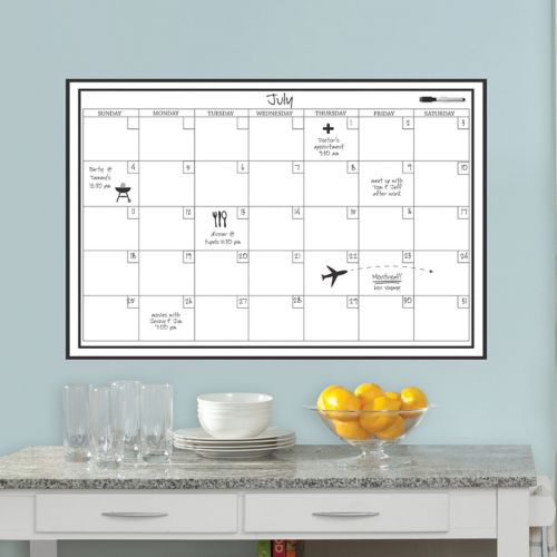 WallPops Large Monthly Calendar Wall Decal