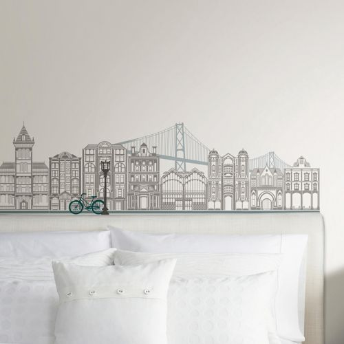 WallPops Globe Trotter Wall Decal