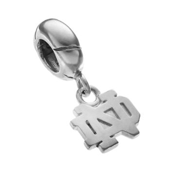 Dayna U Notre Dame Fighting Irish Sterling Silver Logo Charm